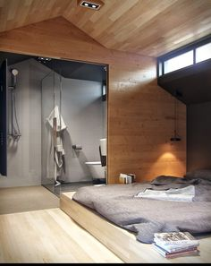 Bathrooms Small Apartment with Snug Storage