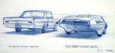 1961 Pontiac Sedan vs. Streamliner - Bill Porter