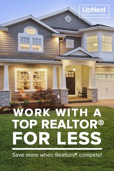 Selling and buying a home can be a stressful time in anyone's life but it doesn't have to be. UpNest takes the pain out of finding a Realtor® you can trust for FREE. We'll handpick the top local agents in your area that fit your needs and let them compete against each other. You compare the proposals and pick the one that's best. Our top partner agents have been featured in Million Dollar Listing, HGTV and House Hunters. Visit UpNest and discover how you can work with a top Realtor® for…
