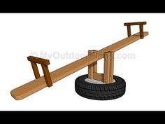 Welcome back to Wood 'n' Stuff w/ Steve French! I made this seesaw (teeter-totter) last December as a Christmas gift for two of our granddaughters. It's base...