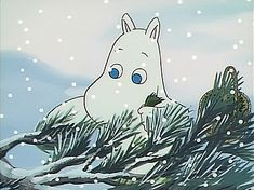 Anime A: Happy Moomin moomin Moomin, Christmas aesthetic, Aesthetic anime Cartoon Gifs, Cute Cartoon, Aesthetic Art, Aesthetic Anime, Moomin Cartoon, Dreamworks, Les Moomins, Moomin Valley, Tove Jansson