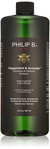 PHILIP B Volumizing and Clarifying Shampoo PeppermintAvocado 32 fl oz >>> Be sure to check out this awesome product.(It is Amazon affiliate link) #comment4comment
