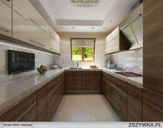 minimalistyczna mała kuchnia