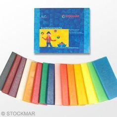Stockmar Modeling Beeswax 3 Pieces Orange