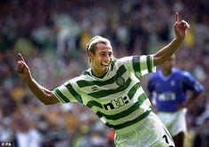 Henrik Larsson #Celtic #vintage