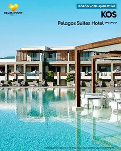 Pelagos Suites Hotel 🧡🧡🧡🧡🧡 Görögország, Kos, Lambi   www.neckermann.hu/szallas/pelagos-suites-hotel/54258?catalog=YHUN Hotel Spa, Kos, Mansions, House Styles, Home Decor, Decoration Home, Manor Houses, Room Decor, Villas