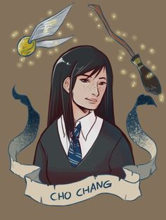 Person- Cho Chang. Cho Chang was Harry's 4th year crush.