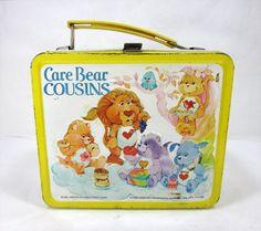 Vintage 1980's Alladin Care Bear Cousins Metal by TurnerVintage, $16.00