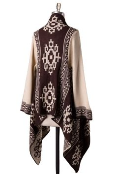 LA Showroom provides access to the biggest selection of wholesale fashion clothing & accessories. Aztec Sweater, Wholesale Fashion, Upper Body, Kimono Top, Fashion Outfits, Knitting, Stylish, Sweaters, Clothes