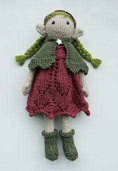 Garden Fairy Amigurumi Pattern. So cute! Perhaps I need to learn crochet and amigurami.