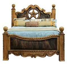 Mexicanspanish Style Dream Bed Awesome Places And Spaces - Star bedroom furniture