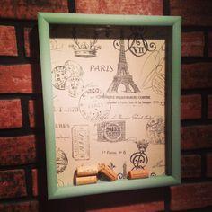DIY Wine Cork Collector Shadow Box | imagineifff