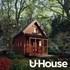U•house | Four Lights Tiny House Company by Jay Shafer  U-house is the first and only dwelling designed to meet the primary U.S. design criteria for all four of the most commonly occupied types of structures in North America: site-built (IRC-regulated) housing, modular/prefab, manufactured housing, and RVs. With little more than a switch from wheels to a locally mandated foundation or vise versa.