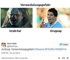 Uruk-hai / Uruguay