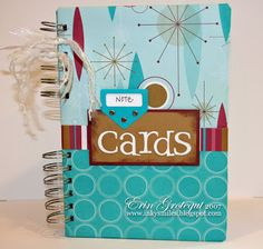 Inky Smiles: Card Organizer -Made With Bind It All Machine