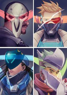 Overwatch - Behind The Masks
