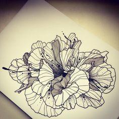 """Ca va être """"Wild"""" la semaine prochaine chez @raveninktattooclub! #wildflower #wildflowertattoo #fleur #blackflower #flowertattoo #tatouagedefleur #tatouagefleur #tatoueur #tattooer #tattooer #tattooartist #tattooart #tattoodesign #artistetatoueur #inkedbyguet #design #dotwork #dotworker #dotworktattoo #designtattoo #guet #graphism #workshopbynoid  #graphictattoo #blackwork #blacktattoo #blackworker #blacktattooart #ravenink #raveninktattooclub"""