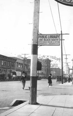 San Diego Library hours circa yesteryear x many.