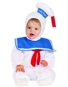 One of many family group Halloween costume ideas - ghostbusters. Stay puft…