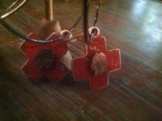 crosses on hoops
