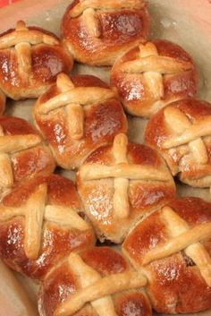 Beaming with Health - Gluten-free hot cross buns