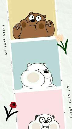 Cute Panda Wallpaper, Cartoon Wallpaper Iphone, Iphone Wallpaper Tumblr Aesthetic, Bear Wallpaper, Cute Patterns Wallpaper, Cute Disney Wallpaper, Kawaii Wallpaper, Cute Wallpaper Backgrounds, Galaxy Wallpaper