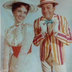 Julie Andrews and Dick Van Dyke in Mary Poppins... I loved Dick Van Dykes smile in this picnic!