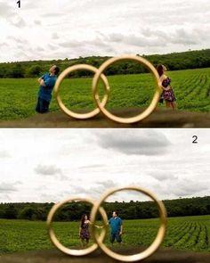 Uma foto criativa para inserir no seu ábum 👰🤵📸 Você faria uma assim? #vireinoiva #casamento #festa #noiva #noivas #noivolindo #voucasar…