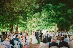 belcroft estates wedding ceremony