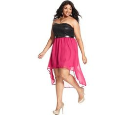 plus size hi-lo dresses - Google Search