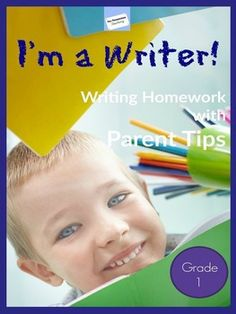 Finally, WRITER'S WORKSHOP HOMEWORK for the entire year!! This also has amazing tips for parents and is EDITABLE!!