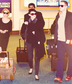 The Charming Family in matching sunglasses! I really don't know why I find this funny. but I do...