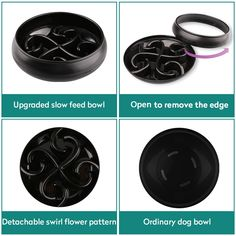 Slow Feed Dog Bowl wangstar Double Dog Puzzle Bowl Maze Pet Interactive Fun Feeder Slow Bowl with Large SkidStop Design Black ** You can find out more details at the link of the image. (This is an affiliate link) Slow Feeder, Dog Puzzles, Maze, Flower Patterns, Dog Bowls, Pet Supplies, Pets, Link, Design