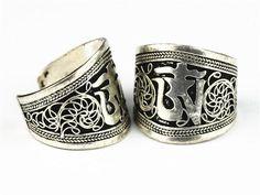 Tibetan OM Ring for Men