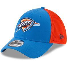 the best attitude 312ea 617dc Oklahoma City Thunder New Era 2T Sided 39THIRTY Flex Hat – Blue