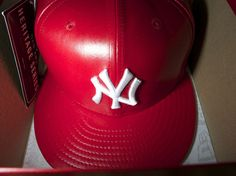 MLB Spike Lee Leather Exclusive 59FIFTY fitted cap from New Era Cap Company $99.99