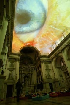 art installation The Dream-Like Art Installation Interiors by the Swiss Artist Pipilotti Rist Interior 3000 Projection Installation, Artistic Installation, Middlebury College, Santa Lucia, Rhode Island, Ikebana, Pipilotti Rist, Louisiana, Sainte Cecile