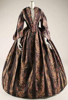 Afternoon Dress 1847-1850 The Metropolitan Museum of Art. The Ms. St. John?