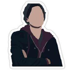 Jughead Jones III// Riverdale Minimalist Sticker