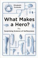 Researchers are now applying the lens of science to study heroism for the first time. How do biology, upbringing, and outside influences intersect to produce altruistic and heroic behavior? And how can we encourage this behavior in corporations, classrooms, and individuals? Using dozens of fascinating real-life examples, Svoboda explains how our genes compel us to do good for others, how going through suffering is linked to altruism, and how acting heroic can greatly improve your mental…