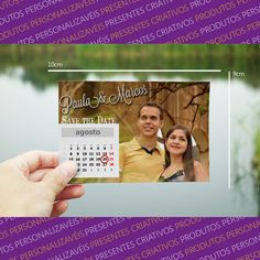 Save the date magnético - casamento - Store R3