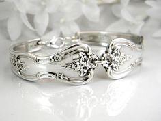 Bridesmaid Bracelet Spoon Bracelet Silver by SilverSpoonCreations, $26.00