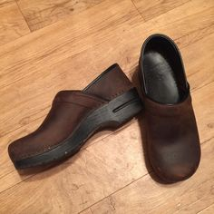 Clogs Worn very little, oiled brown Dansko Shoes Mules & Clogs