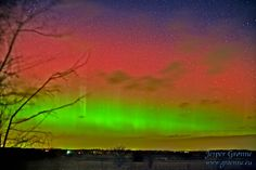 Nothern light in Danmark Northern Lights Holidays, Look At The Sky, Gods Creation, 10 Year Old, Aurora Borealis, Wonders Of The World, Celestial, Nature, Southern