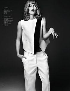 wild chic: masha novoselova by naomi yang for french revue de modes #22 s/s 13 | visual optimism; fashion editorials, shows, campaigns & more!