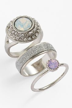 Stacked Crystallized Rings