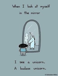 Unicorns. My grandmother loved them, my mom wanted to be one after she died. God bless unicorns!!