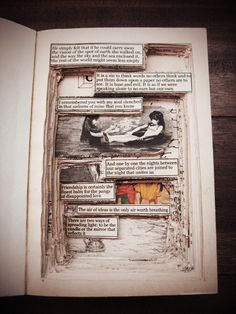 altered book, via teaching literacy. reminds me of a certain class in riley.