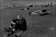 Photos of Henri Cartier-Bresson: USA. Massachusetts. Boston. 1947.