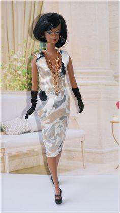 Silkstone High End Fashion, Trendy Fashion, Womens Fashion, Fashion Trends, African American Dolls, Black Barbie, Beautiful Friend, Badgley Mischka, Fashion Dolls